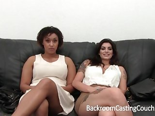 Outstanding Bi-Racial Grown Visual acuity 3Some Audition