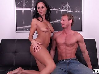 Chesty MILF Ava Addams gets that tight pussy slammed